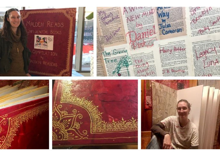 Community Art Project: Influential Books