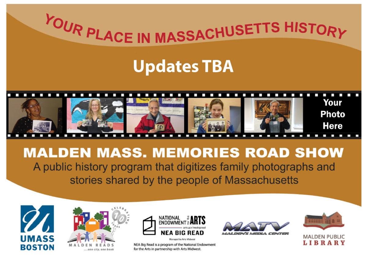Mass. Memories Road Show – Summer Event
